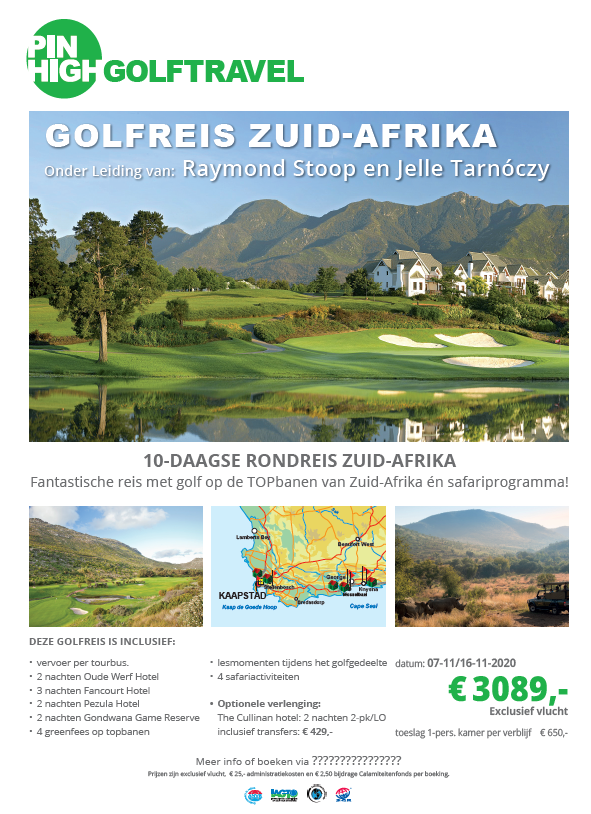 Poster Zuid Afrika